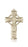 Image of Celtic Cross Medal (14kt Gold)