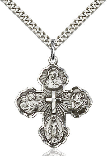 Image of 5-Way Pendant (Sterling Silver)
