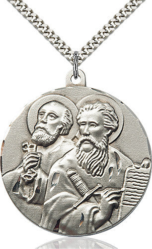 St. Peter Pendant (Sterling Silver)