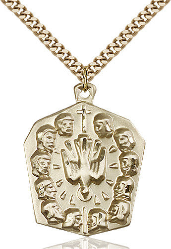 apostles_pendant_14_karat_gold_filled