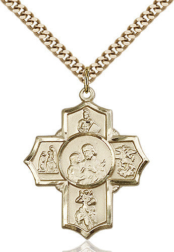 5_way_firefighter_pendant_14_karat_gold_filled