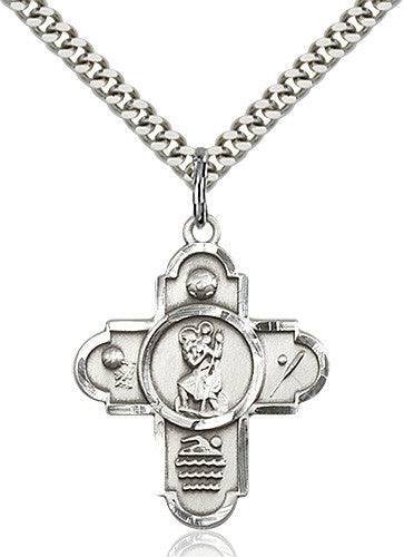 st_christopher_5_way_sports_medal