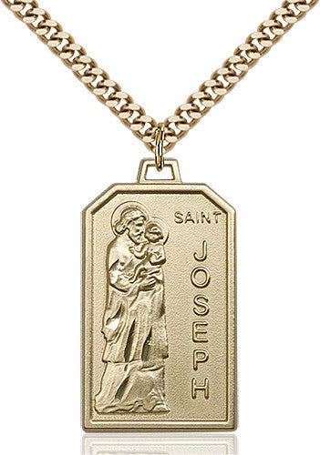 Image of St. Jospeh Pendant (Gold Filled)