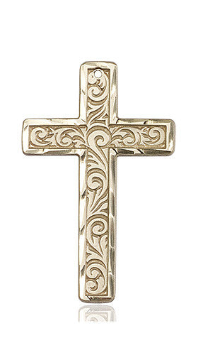 knurled_cross_medal_14kt_gold