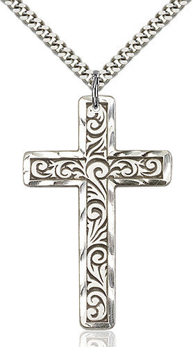 knurled_cross_pendant