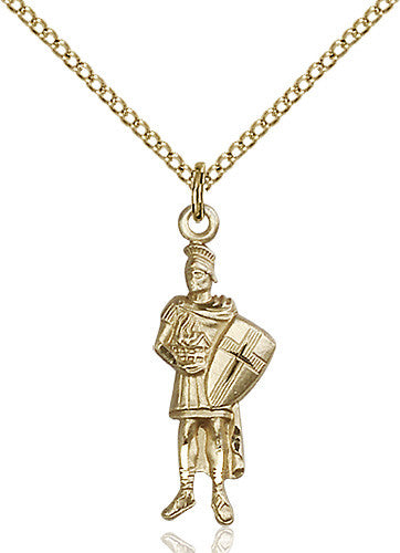Image of St. Florain Pendant (Gold Filled)