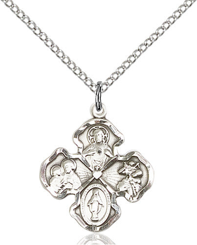 4-Way Pendant (Sterling Silver)