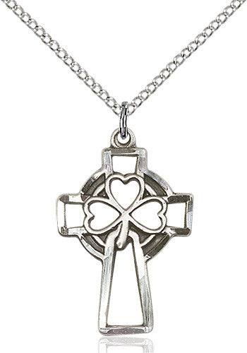 shamrock_cross_pendant