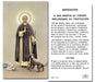 Image of SAN MARTIN DE PORRES HOLY CARD
