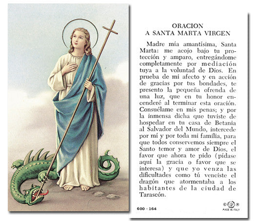 Image of SANTA MARTA HOLY CARD