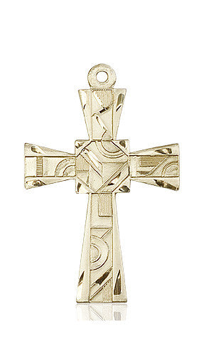 mosaic_cross_medal_14kt_gold