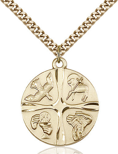 christian_life_pendant_14_karat_gold_filled