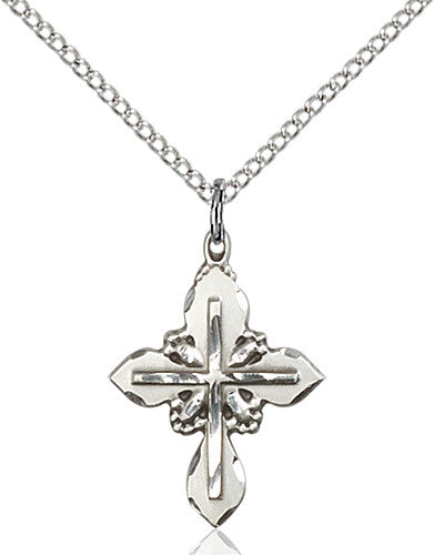 Image of Cross Pendant (Sterling Silver)