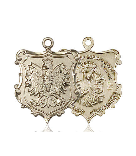 our_lady_of_czestochowa_english_falcon__medal_14kt_gold