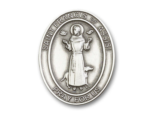 St. Francis of Assisi Visor Clip
