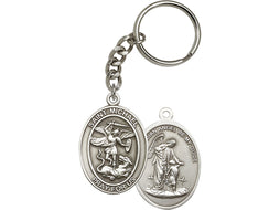 st_michael_the_archangel_keychain