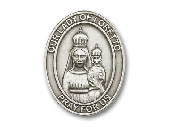Our Lady of Loretto Visor Clip