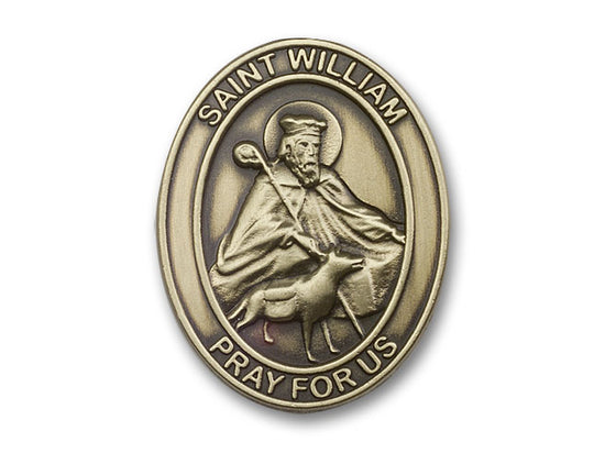St. William Visor Clip