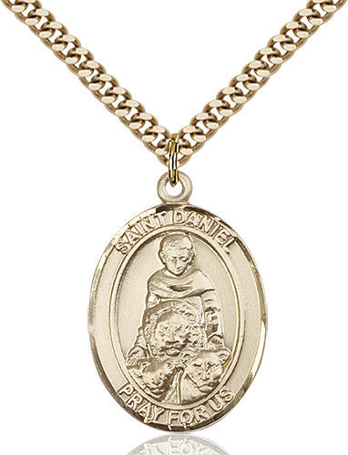 Image of St. Daniel Pendant (Gold Filled)