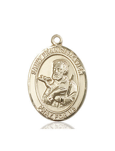 st_francis_xaiver_medal_14kt_gold