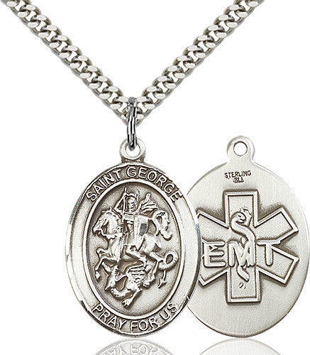 Image of St. George / Emt Pendant (Sterling Silver)