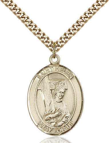 Image of St. Helen Pendant (Gold Filled)