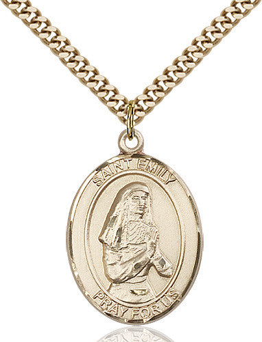 Image of St. Emily de Vialar Pendant (Gold Filled)