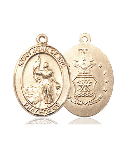 st_joan_of_arc_air_force_medal_14kt_gold