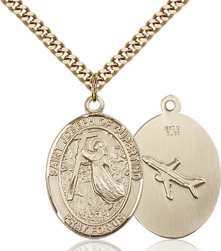 Image of St. Joseph Of Cupertino Pendant (Gold Filled)