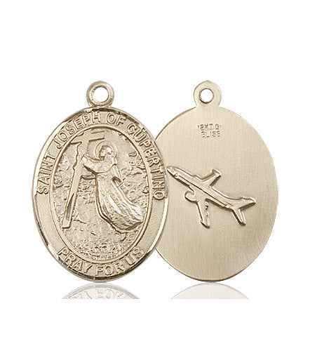 st_joseph_of_cupertino_medal_14kt_gold