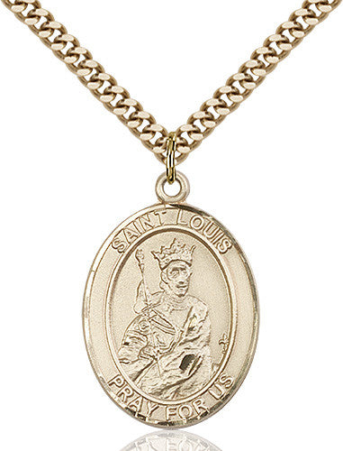 Image of St. Louis Pendant (Gold Filled)