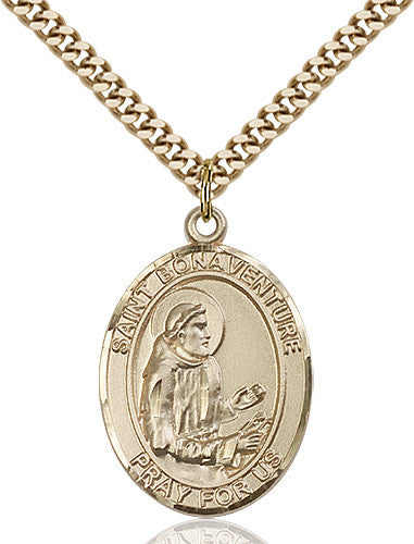 Image of St. Bonaventure Pendant (Gold Filled)