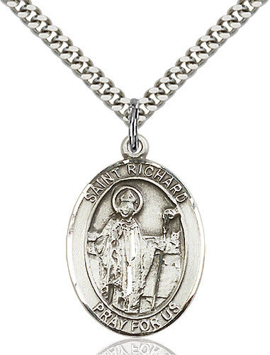 Image of St. Richard Pendant (Sterling Silver)