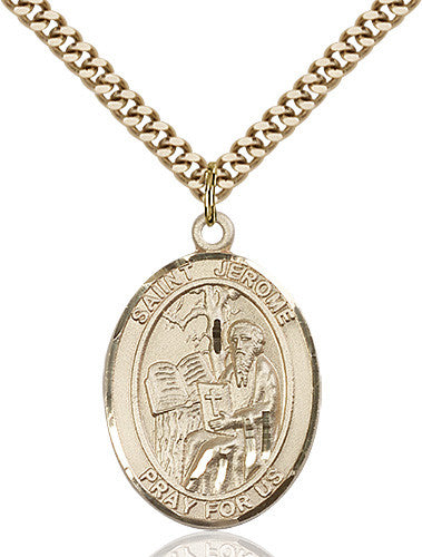 Image of St. Jerome Pendant (Gold Filled)