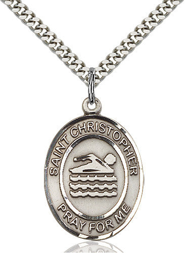 swimming_st_christopher_medal