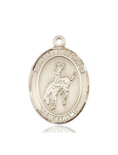 st_christopher_rodeo_medal_14kt_gold