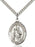 St. Augustine of Hippo Pendant (Sterling Silver)