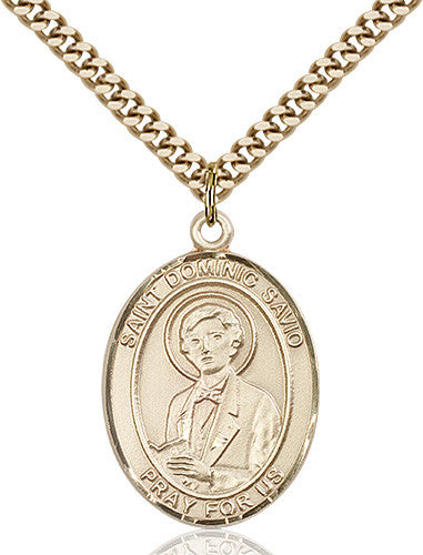 Image of St. Dominic Savio Pendant (Gold Filled)