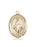 Image of Our Lady of Lebanon Medal (14kt Gold)