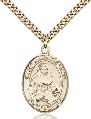 Image of St. Julia Billiart Pendant (Gold Filled)