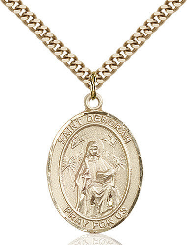 Image of St. Deborah Pendant (Gold Filled)