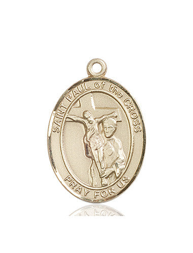 st_paul_of_the_cross_medal_14kt_gold