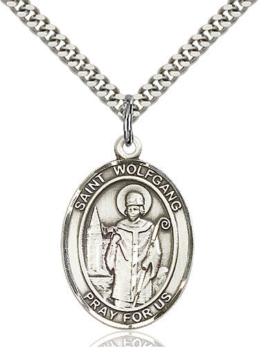 St. Wolfgang Pendant (Sterling Silver)