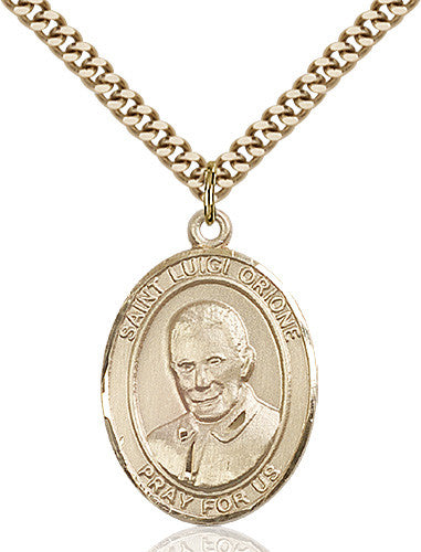 Image of St. Luigi Orione Pendant (Gold Filled)