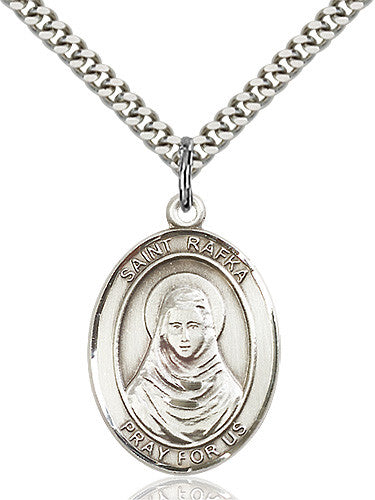 Image of St. Rafta Pendant (Sterling Silver)