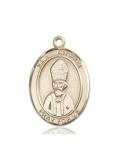 st_anslem_of_canterbury_14kt_gold_medal