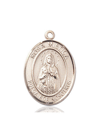 Image of Our Lady ROSA MYSTICA Medal (14kt Gold)