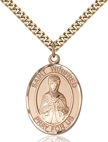 st_winifred_of_wales_pendant