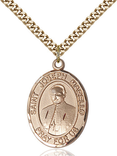 Image of St. Joseph Marello Pendant (Gold Filled)