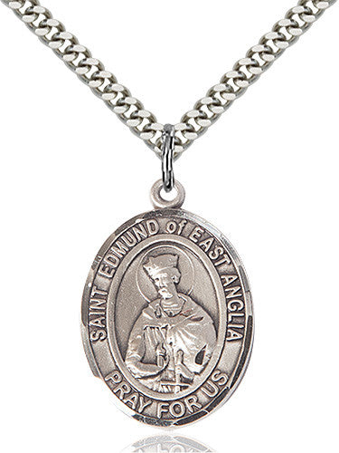 st_edmund_of_east_anglia_pendant